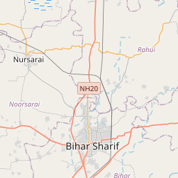 Distance from Bihar Sharif, Bihār to Chandi, Bihār