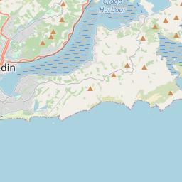 Map Of Dunedin New Zealand.Dunedin Maps Maps Of Dunedin New Zealand