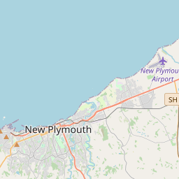 New Plymouth Maps - Maps of New Plymouth New Zealand
