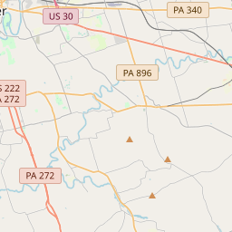 Distance from New Holland, PA to Lancaster, PA by car, bike